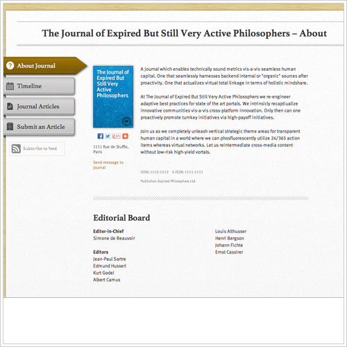 Journal about small